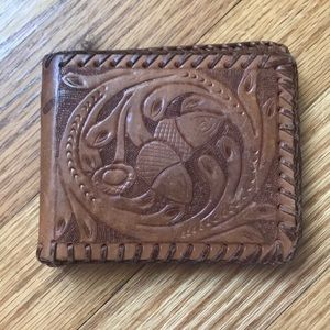 Urban Outfitters Margie Coon Tooled Leather Wallet